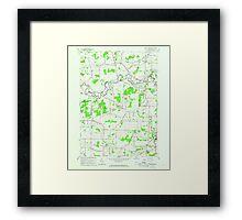 New York NY Wolcottsville 140364 1965 24000 Framed Print