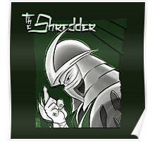 The Shredder - Ooze Canister Green Poster