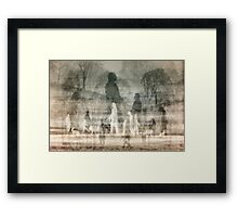 Shadow Walkers Framed Print