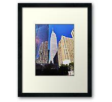 Empire State Building, New York Framed Print