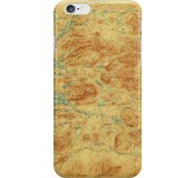 New York NY Blue Mountain 139268 1903 62500 iPhone Case/Skin