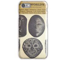 MUSIC OF THE WORLD'S PEOPLES LP iPhone Case/Skin