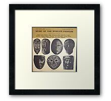MUSIC OF THE WORLD'S PEOPLES LP Framed Print