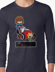 Undertale Frisk and Flowey Long Sleeve T-Shirt