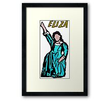 Hamilton Schuyler Sisters - Eliza Framed Print