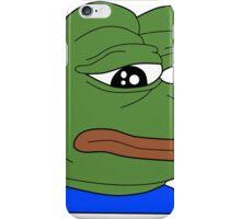 Pepe - FeelsBadMan iPhone Case/Skin