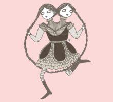 Jump Rope Twins Kids Tee