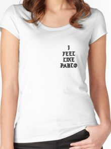 Pablo YZY s3 Women's Fitted Scoop T-Shirt