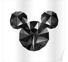 Black Pop Crystal Poster