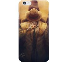 The Synth detective iPhone Case/Skin