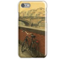 Old bridge in Florence, Italy iPhone Case/Skin