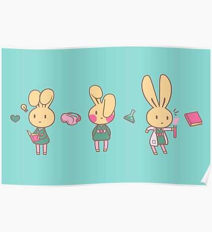 Honey Bunny Passion Poster