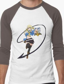 Fairy Tail - Lucy Heartfilia Men's Baseball ¾ T-Shirt