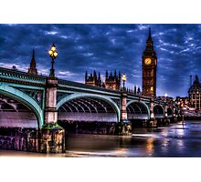 Westminster Bridge Photographic Print