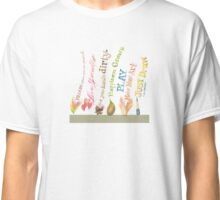 Daily Inspiration, Affirmations, Quotes Classic T-Shirt