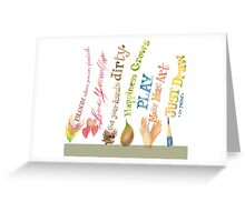 Daily Inspiration, Affirmations, Quotes Greeting Card
