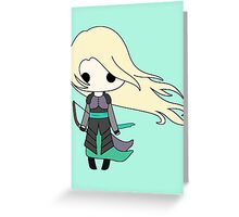 Heir of Fire Chibi Greeting Card