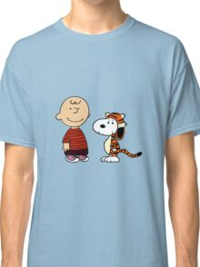 calvin and hobbes meets peanuts Classic T-Shirt