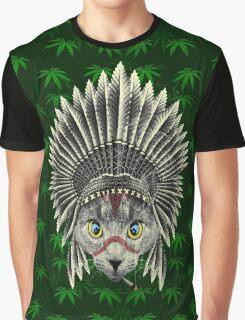 RASTA CHIEF Graphic T-Shirt