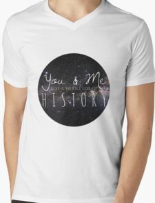 one direction - history Mens V-Neck T-Shirt