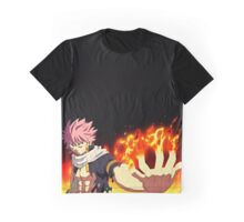 Fairy Tail - Natsu Dragneel Fire Graphic T-Shirt