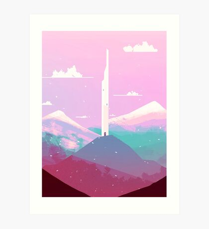 tower of wind Art Print
