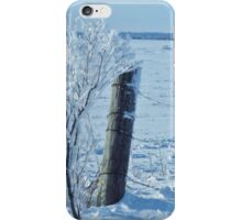 The Fence Post  iPhone Case/Skin