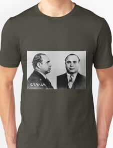 Al Capone Mugshot at the CPD (June 17th 1931) T-Shirt