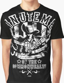 Minutemen Of The Commonwealth - negative colors Graphic T-Shirt