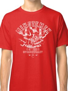 Minutemen Of The Commonwealth - negative colors Classic T-Shirt