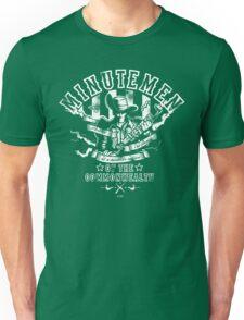 Minutemen Of The Commonwealth - negative colors Unisex T-Shirt