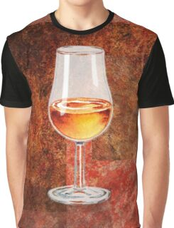 Glass Of Port Graphic T-Shirt