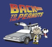 Peanuts Back To The Future by Vintagetees