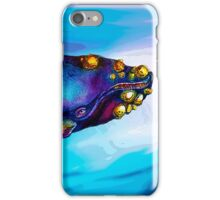 BowHead WHale Swimming Along iPhone Case/Skin