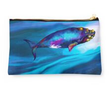 BowHead WHale Swimming Along Studio Pouch