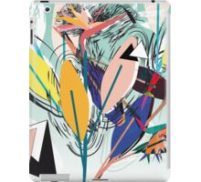 Paradise Flower 80s iPad Case/Skin