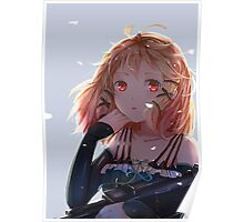 Tina Sprout Red Eyes Poster