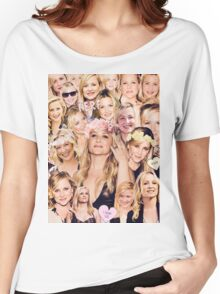 Arizona Robbins - Jessica Capshaw Collage Women's Relaxed Fit T-Shirt
