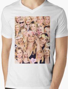 Arizona Robbins - Jessica Capshaw Collage Mens V-Neck T-Shirt