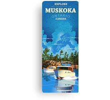 Explore Muskoka  Canvas Print