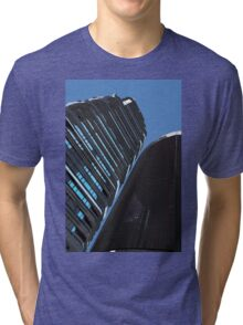 London City Skyline Tri-blend T-Shirt