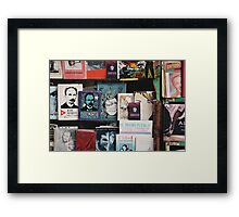Secondhand Books, Plaza de Armas (Havana) Framed Print