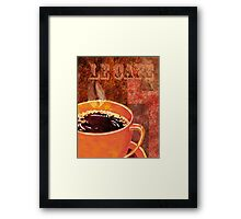 Le Cafe Decor Framed Print