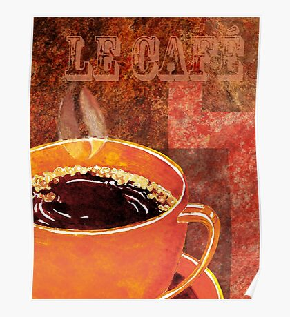 Le Cafe Decor Poster