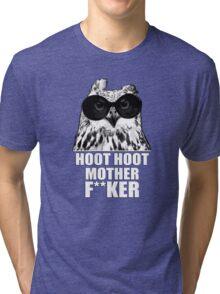 Hoot Hoot Tri-blend T-Shirt