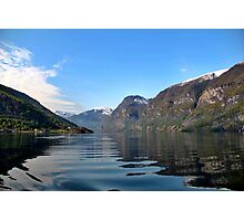 Norwegian Fjord Photographic Print