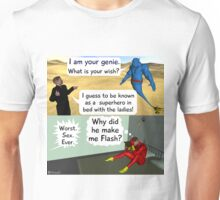 Be a super hero with the ladies Unisex T-Shirt
