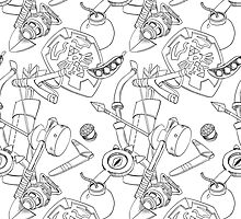 Zelda Patterns by Bendragon