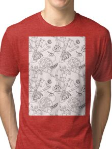 Zelda Patterns Tri-blend T-Shirt
