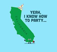 Character Building -  California, knows how to party… by SevenHundred